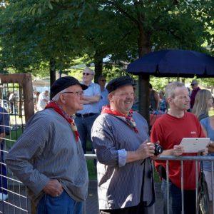 (20) Opening Vlegeldag door de Heidehoogheden (Foto: Berry Jakobsen)