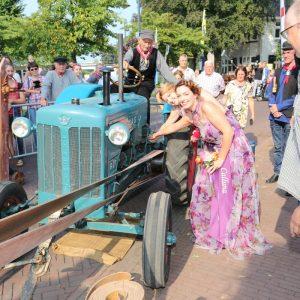 (47) Opening Vlegeldag door de Heidehoogheden (Foto: Berry Jakobsen)